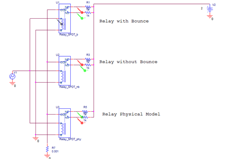 including relays in pspice simulations pspicerelay model for pspice simulation incldgrlyspspcmdlng_fig1 png