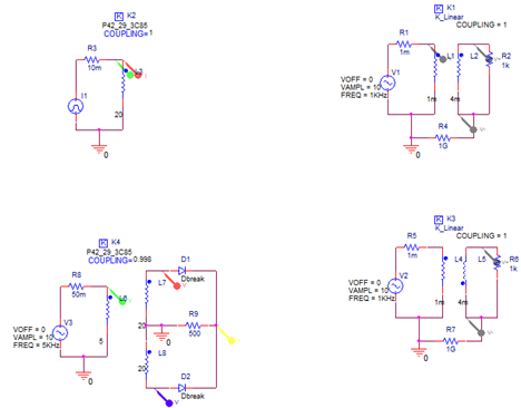 Using the Inductor Coupling Symbols | PSpice