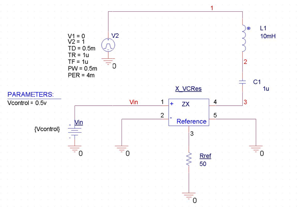 Modeling Voltage-Controlled Resistors and Capacitors in PSpice | PSpice